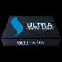 The limited edition ULTRA WHITE @HOME Teeth whitening kit, contains enough for teeth whitening sessions