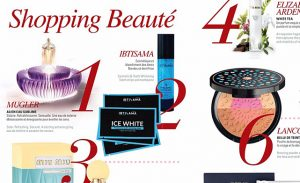 Madame Magazine Shopping Beauté